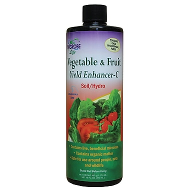 Microbe Lift LG21535 Liquid Vegetable and Fruit Yield Enhancer, 16 oz.