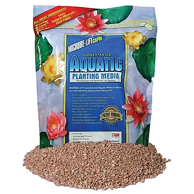 Microbe Lift/Ecological Labs MLCAPM10 Concentrated Aquatic Planting Media, 10 lbs.