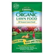 Espoma EOLF14 Organic All Season Lawn Food Bag, 14 lbs.