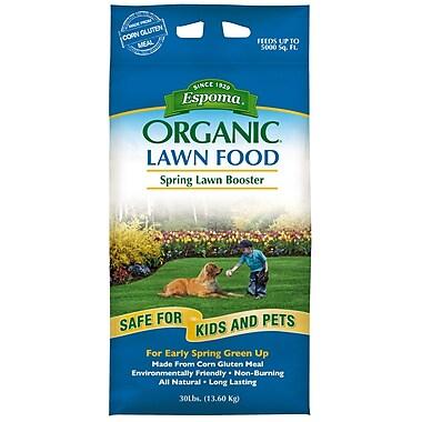 Espoma EOLB30 Organic Lawn Booster Fertilizer, 30 lbs.