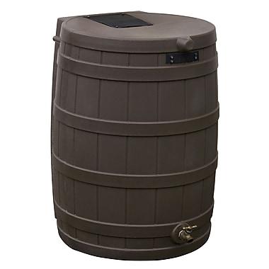 Good Ideas RW50-OAK 50 gal. Rain Barrel, Oak