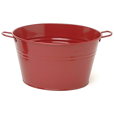 Houston International 6085E Galvanized Enamel Tub