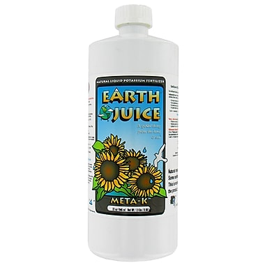 Hydrofarm HOJ05299 1 Quart Earth Juice Meta-K
