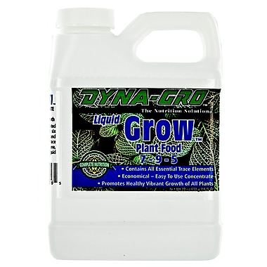 Dyna-Gro DYGRO016 Grow Liquid Plant Food, 1 Pint