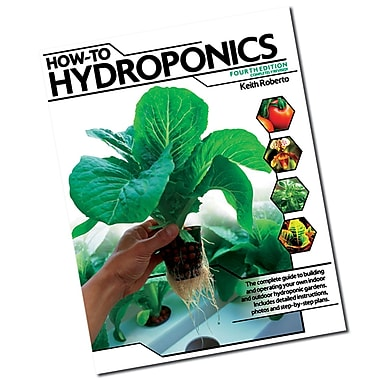 Hydrofarm BKHTH How To Hydroponics Book