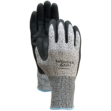 Wonder Grip WG778CL Black Polyester, Large