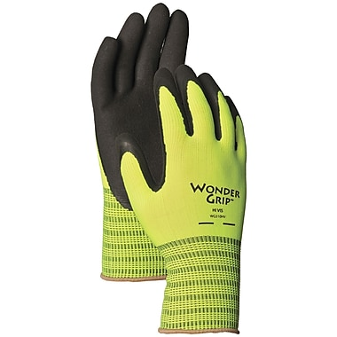 Wonder Grip WG310HVL Green Polyester, Large
