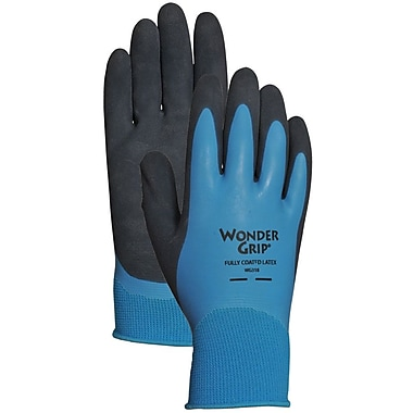 Wonder Grip WG318M Blue Nylon, Medium