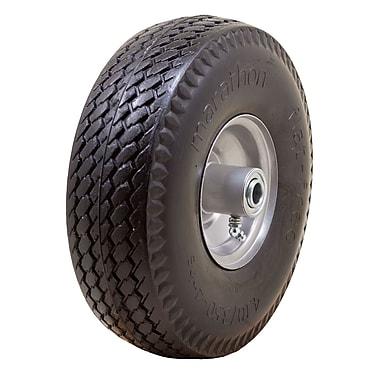 Marathon Industries 00010 Sawtooth Flat Free Hand Truck Tire, 10