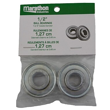 Marathon Industries 60020 Ball Bearings, 1/2