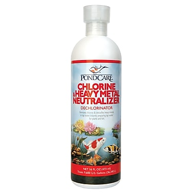 Pondcare 141B Chlorine and Heavy Metal Neutralizer, 16 oz.