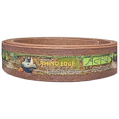 Master Mark Plastics 93016 Rhino Edge Chestnut Landscape Edging, 3.5