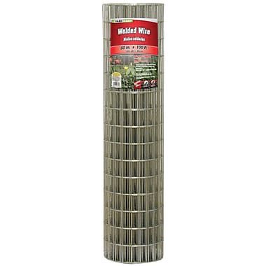 Midwest Air Technologies 308313B Galvanized Welded Mesh Fence, 60