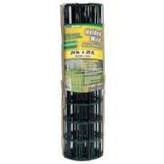 "Midwest Air Technologies 308350B Dark Green YardGard PVC Coated Welded, 24"" x 25'"