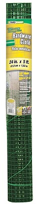 """""Midwest Air Technologies 308253B Green 1/2"""""""" Mesh Hardware Cloth, 24"""""""" x 5'"""""" 1260803"