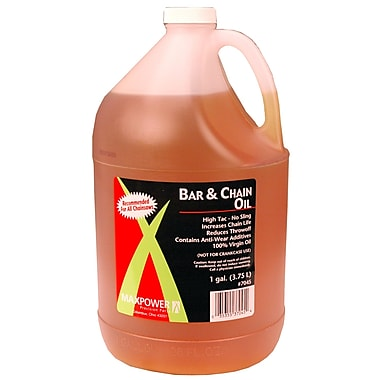Maxpower Precision Parts 337045 Bar and Chain Oil, 1 gal.