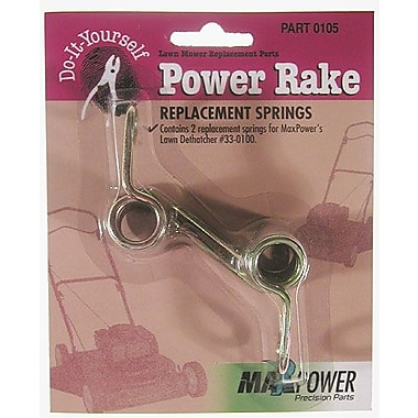 Maxpower Precision Parts 330105 Power Rake Replacement Springs