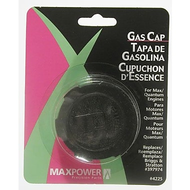 Maxpower Precision Parts 334225 Max and Quantum Gas Cap