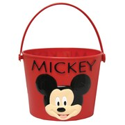 Midwest Quality Glove MY8K Kids Plastic Gardening Bucket, Mickey Mouse