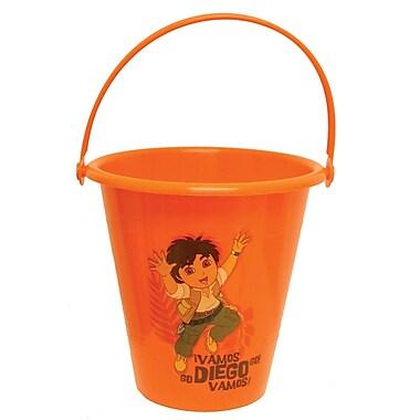 Midwest Quality Glove DO8K Kids Plastic Gardening Bucket, Diego