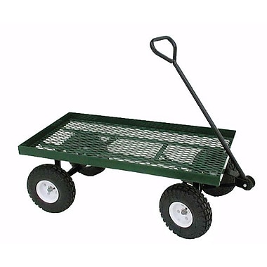 Millside Industries 20X38WFF Metal Deck Wagon