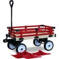 Millside Industries WWSR-W Convertible Wooden Wagon