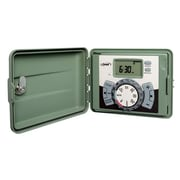Orbit 57896 6 Station Outdoor Swing Panel Timer, Green