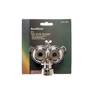 Orbit 58020 Zinc Twin Circle Stationary Sprinkler