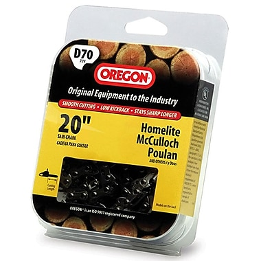 Oregon D70 Full Chisel Cutting Chain, 20