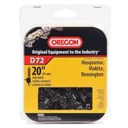 "Oregon D72 Premium Vanguard Saw Chain, 20"""