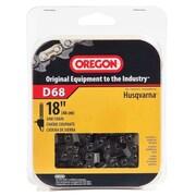 "Oregon D68 Vanguard Saw Chain, 18"""