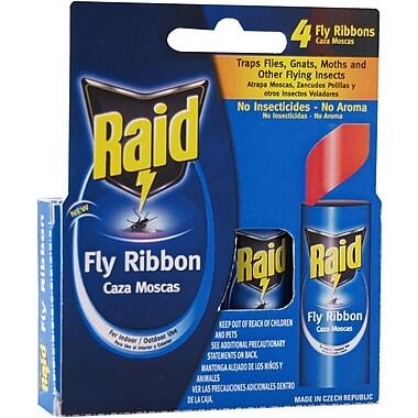 Raid FR3-RAID Fly Catcher Ribbon, 4 Count