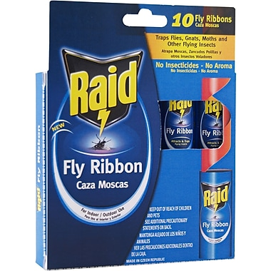 Raid FR3-RAID Fly Catcher Ribbon, 10 Count