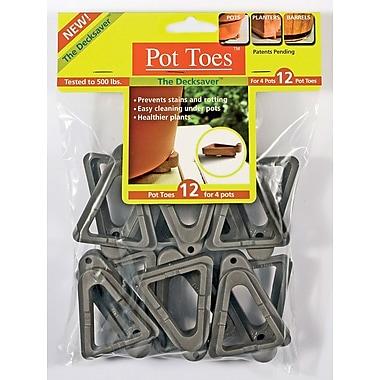 Plantstand PT-12CHHT Pot Toes, Dark Gray