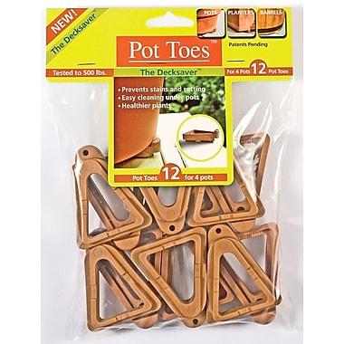 Plantstand PT-12TCHT Pot Toes, Terra Cotta