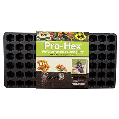 Jiffy PHEX-7W Seed Starter Tray, 72 cells