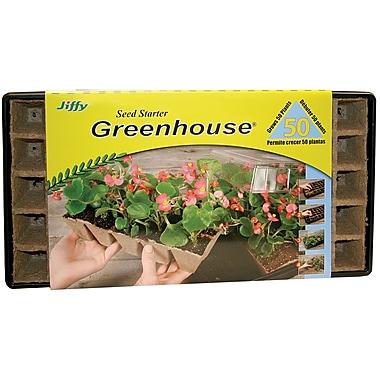 Jiffy TS50H Strips 'N Greenhouse, Brown
