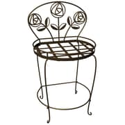 Plastec Products PS1018BK Rose Garden Plant Chair