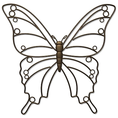 Plastec WD209DB Butterfly Wall Plaques
