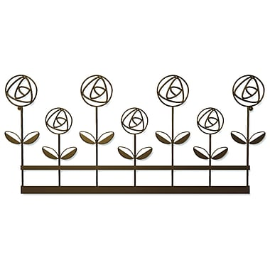 Plastec WD208DB Rose Garden Wall Plaques