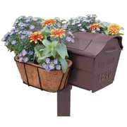 Plastec Products MFGB-CM Flower Garden Mailbox