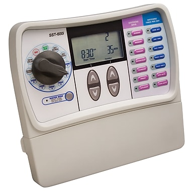 Rainbird SST600i Indoor Automatic Sprinkler Timer, 6 Zone