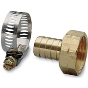 "Nelson 50451 5/8"" Female Hose Repair With Worm Gear Clamp"