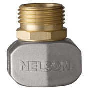 "Nelson 50520 5/8"" & 3/4"" Male Hose Repair Clamp Connector"
