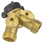 Gilmour 13 Brass 2-Way Connector