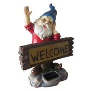 Smart Solar 3572ARM1 Welcome Gnome Solar Accent Light