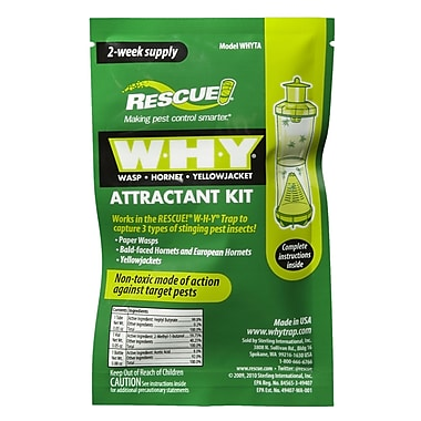 Rescue WHYTA-DB16 Why Trap Refill Attractant