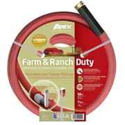 "Teknor Apex 969RR-50 3/4"" X 50' Farm & Ranch Duty All Rubber Garden Hose"