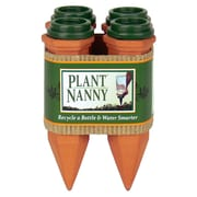 The Plant Nanny Bottle Stakes with Adapters, 4 Count