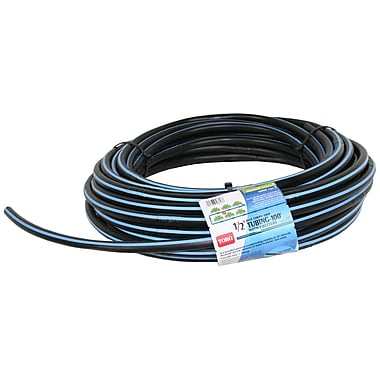 Toro 100' Roll Blue Stripe Drip Tubing with Emitters